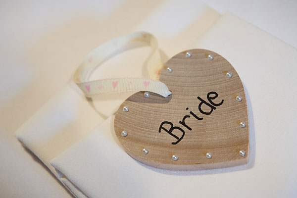 heart bride place name