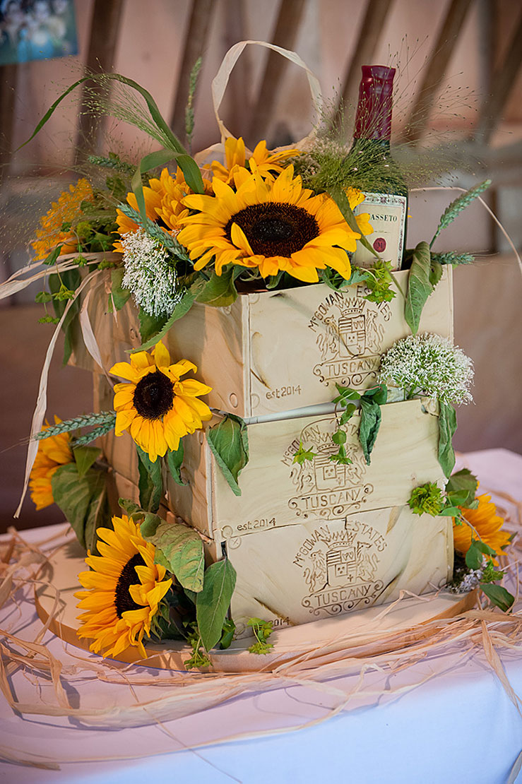 Wedding Themes Sunflowers